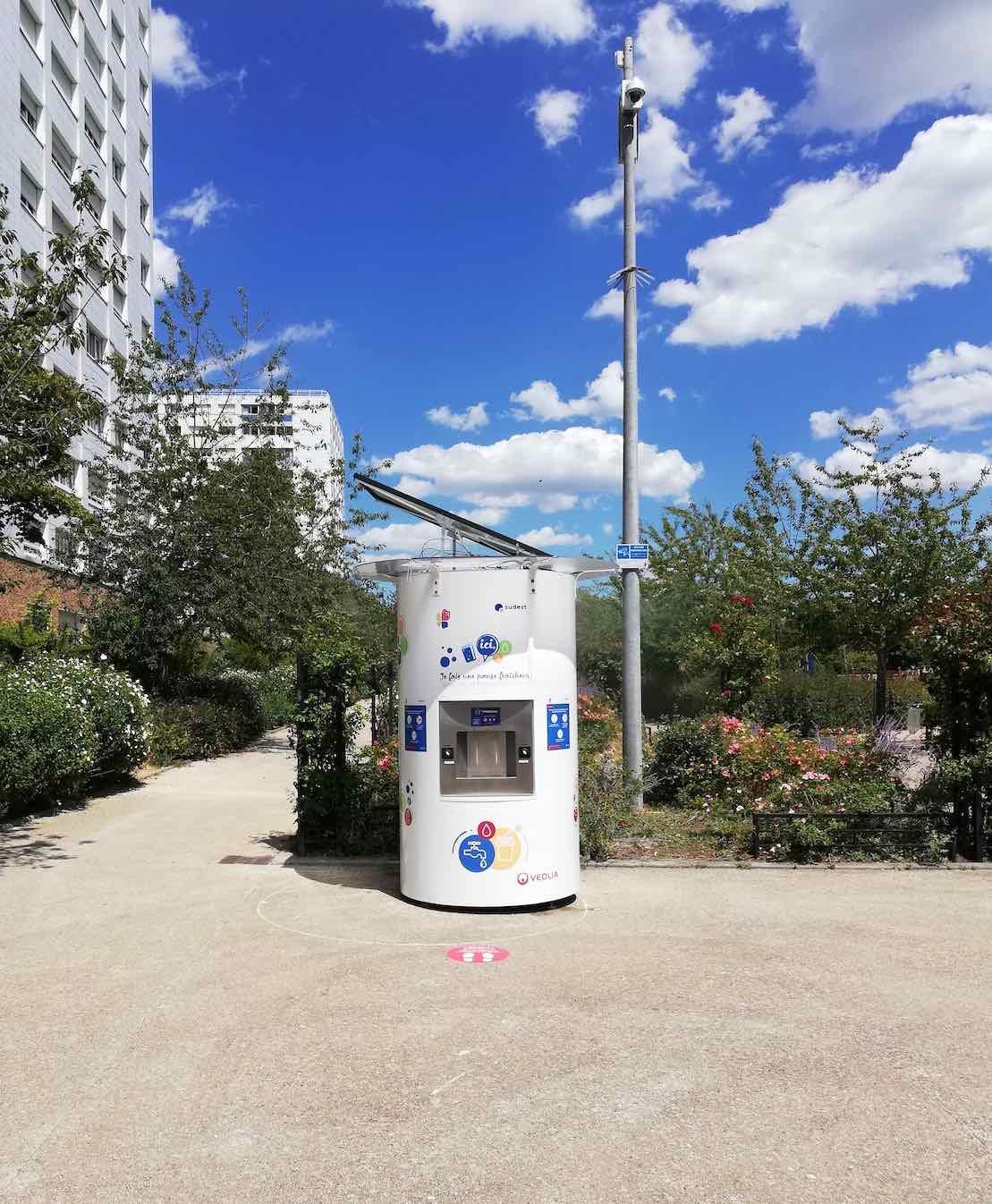 Des fontaines qui révolutionnent l'accès à l'eau potable